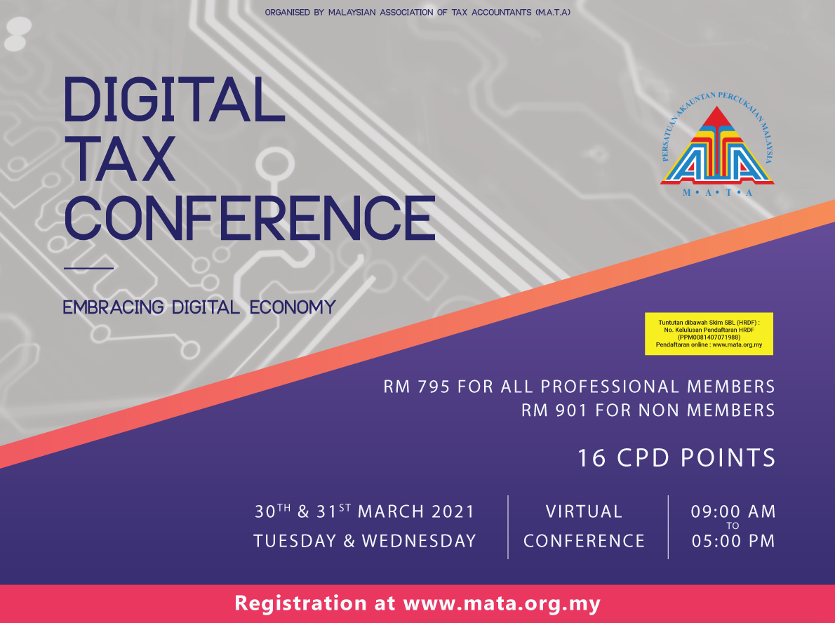 DIGITAL TAX CONFERENCE 2021